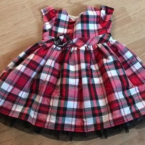 Carters 6 months Girls Dress red/white